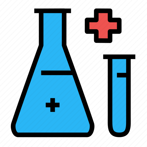 experiment, flask, hospital, research, science, test, tube icon