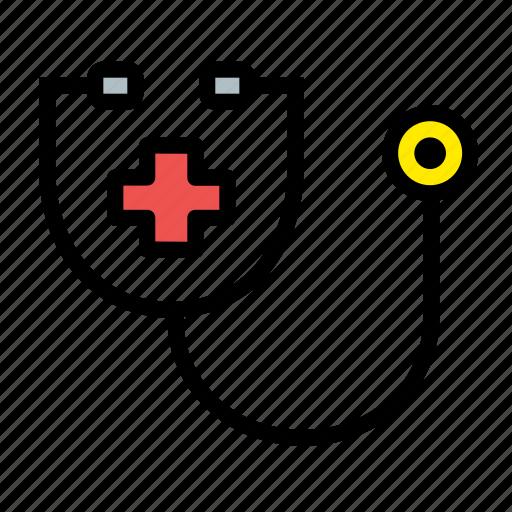 health, hospitalhealthcare, medical, stethoscope icon