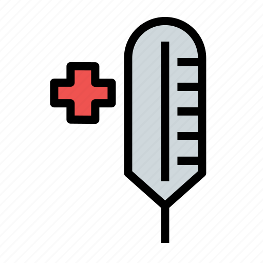 health, healthcare, medical, medicine, thermometer icon