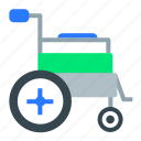 health, healthcare, medical, medicine, wheelchair icon
