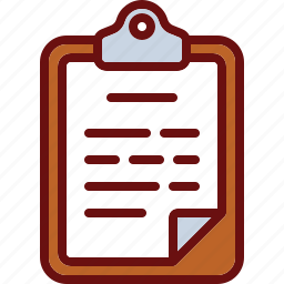 business, clipboard, doc, document, office, text icon