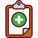 add, clipboard, plus icon