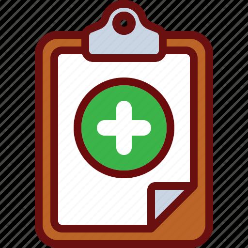 add, clipboard, plus icon