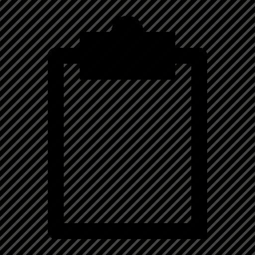 art, board, clipboard, document, note, report icon