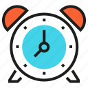 alarm, clock, deadline, hour, minute, time, timer icon