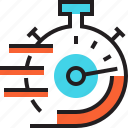 clock, optimization, seo, speed, stopwatch, time, timer icon