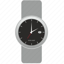 clock, dark, dial, face, hand, watches icon