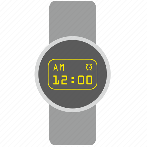 clocks, design, dial, digital, smart, watches icon