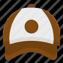 baseball, cap, clothing, fashion, hat icon