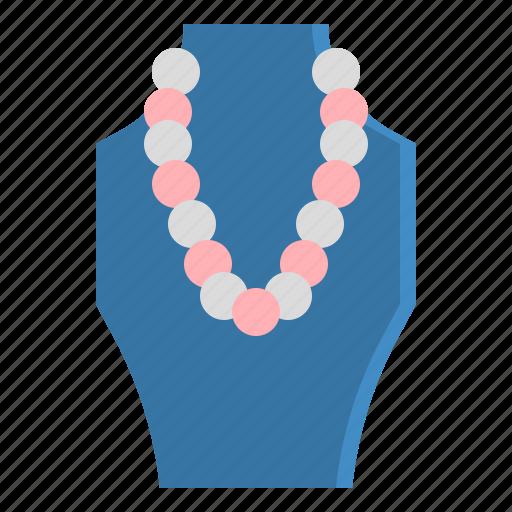 accessory, fashion, jewel, jewelry, necklace icon
