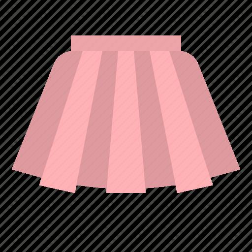 clothes, fashion, femenine, garment, skirt icon