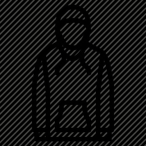 clothes, fashion, hoodie, style, sweatshirt icon