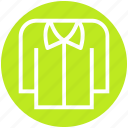 apparel, casual, clothe, collar, fashion, man, shirt icon