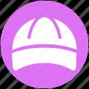 baseball cap, cap, cloth, fashion, player cap, sports cap, worker icon
