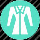 clothing, cold, dress, fashion, female, winter, woman icon