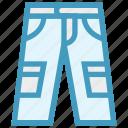 fashion, jeans, man, pent, trouser, wear icon