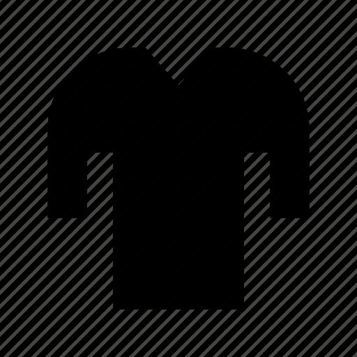 clothes, full sleeves shirt, shirt, t shirt, wardrobe icon