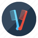 barbershop, beauty, comb, hair, hairstyle, salon icon