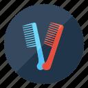 comb, hair, barbershop, beauty, hairstyle, salon