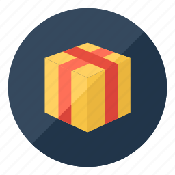 box, christmas, delivery, gift, package, present, shopping icon