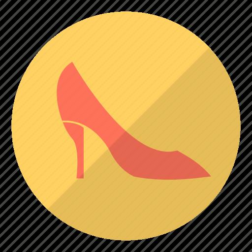 fashion, heels, high, high heels, lady, shoe, woman icon
