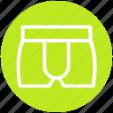 .svg, boxers, clothes, man, men, underwear icon