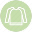 .svg, clothe, pullover, sweater, warm, winter, winter clothes icon