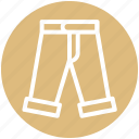 .svg, clothe, fashion, jeans, man, trouser, wear icon