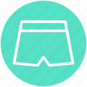 .svg, clothe, fashion, jeans, nicker, short pent, shorts icon