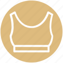 .svg, bra, clothes, dress, fashion, sport icon