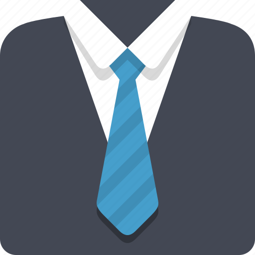 clothes, clothing, fashion, formal, official, suit icon