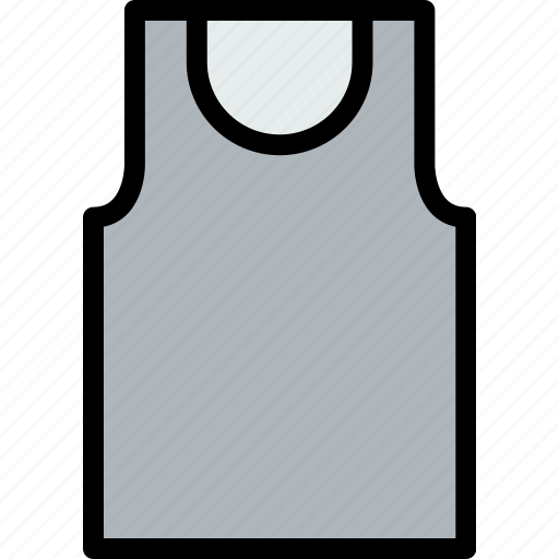 accessories, clothe, clothing, vest icon