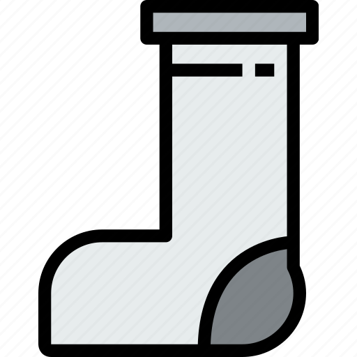 accessories, clothe, clothing, sock icon