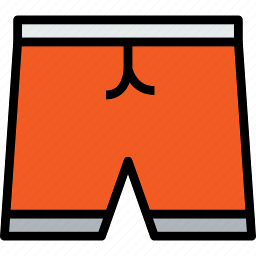 accessories, clothe, clothing, shorts icon