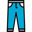 accessories, clothe, clothing, pants icon