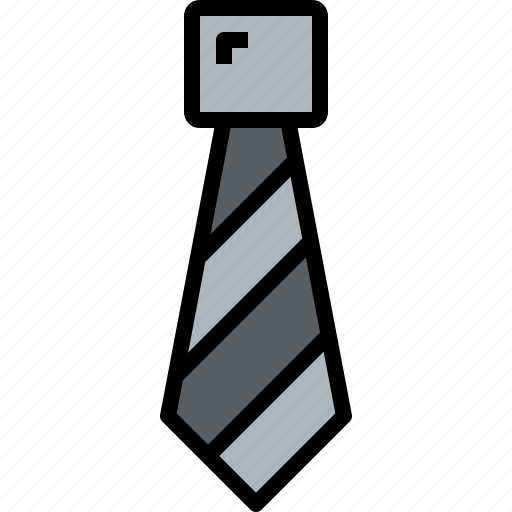 accessories, clothe, clothing, tie icon