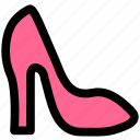 dress up, fashion, footwear, high heels, shoe, shoes icon