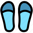 flippers, footwear, loader, loafer, shoe, slipper, slippers icon
