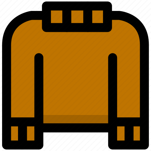 clothes, clothing, fashion, sweater icon