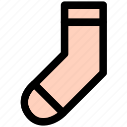 footwear, hose, shoes, sock, socks, stocking icon
