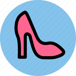clothes, high heels, shoe, shoes icon