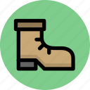 boots, journey, shoe, tour, tourism, travel, trip icon