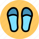 footwear, loafer, slipper, slippers icon