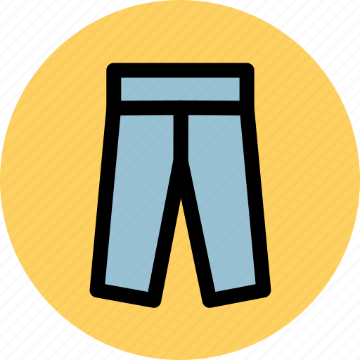 clothes, clothing, pants icon