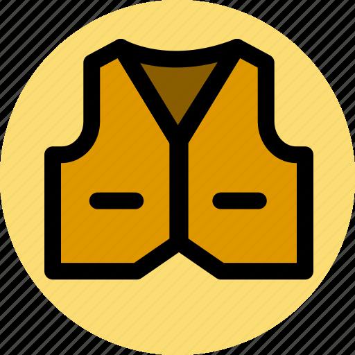 clothes, fashion, vest icon