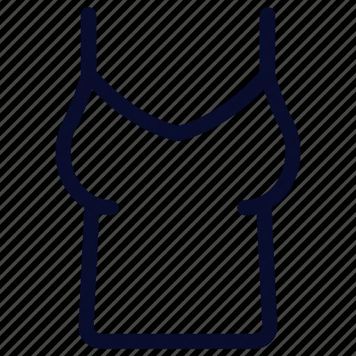 blouse, clothes, fashion, tanktop icon