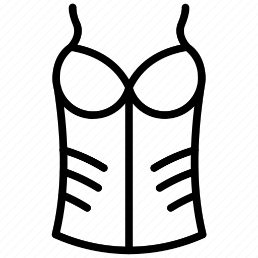 Bra, brasserie, innerwear, pantie, panty, undergarments, underwear icon - Download on Iconfinder