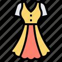 attire, casual, clothing, dress, wear icon