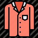 loos, nightgown, pyjamas, shirt, sleeper icon