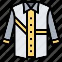 attire, clothing, formal, shirt, tops icon